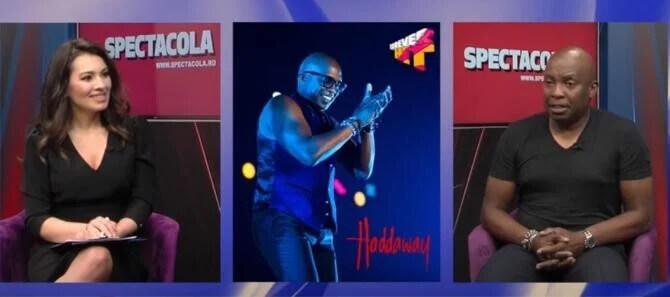 """Haddaway, artistul care a făcut furori cu piesa """"What is Love"""", se iubește cu o româncă"""